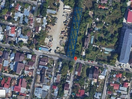 Teren de vanzare in Bucuresti, Berceni - 1097 mp, 137000.0 EUR