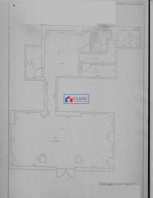 Spatiu comercial de inchiriat in Cluj-Napoca, Marasti - 117 mp, 5450 euro